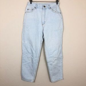Amazing VTG Lee 90's High Waist Light Wash Jeans